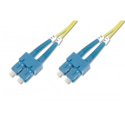 Digitus - DK-2922-02 cable de fibra optica 2 m SC Amarillo