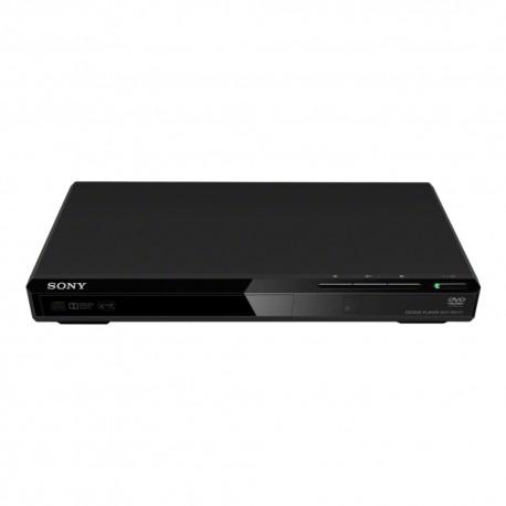 Sony - Reproductor de DVD delgado, elegante y compacto DVP-SR170