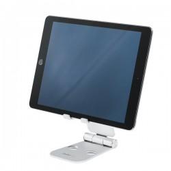 StarTech.com - Base para Móvil y Tablet - Aluminio - Plegable - Soporte Ajustable para Tablet - Soporte Multidispositivo
