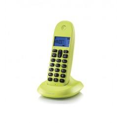 Motorola - C1001LB+ Teléfono DECT Identificador de llamadas Verde teléfono