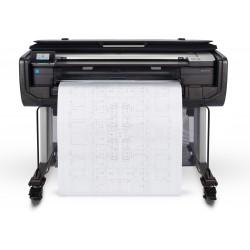 HP - Designjet T830 impresora de gran formato Inyección de tinta térmica Color 2400 x 1200 DPI 914 x 1897 mm Wifi