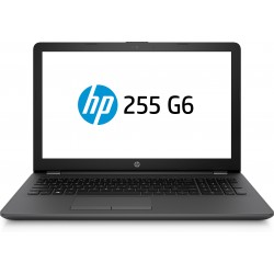"HP - 255 G6 Negro Portátil 39,6 cm (15.6"") 1366 x 768 Pixeles 2 GHz AMD E E2-9000e"