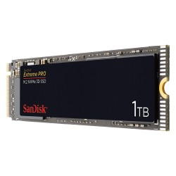SanDisk - Extreme PRO M.2 1000 GB PCI Express 3.0 NVMe
