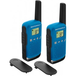 Motorola - TALKABOUT T42 two-way radios 16 canales Negro, Azul