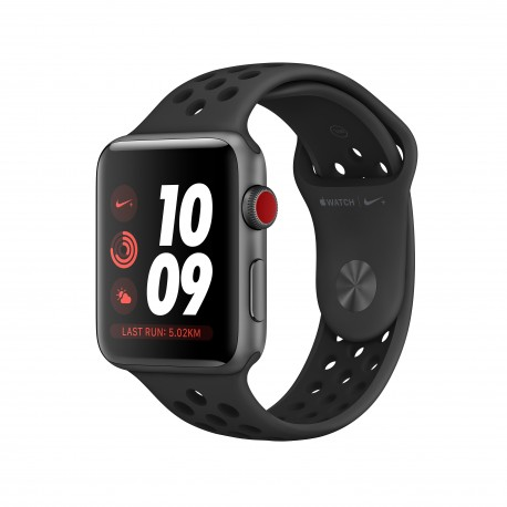 Apple - Watch Nike OLED Mvil Gris GPS satlite reloj inteligente