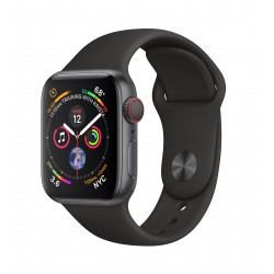 Apple - Watch Series 4 OLED 40 mm Gris 4G GPS (satélite)