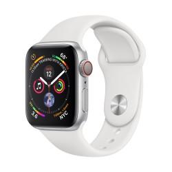 Apple - Watch Series 4 reloj inteligente Plata OLED Móvil GPS (satélite)