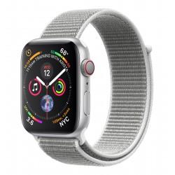 Apple - Watch Series 4 reloj inteligente Plata OLED Móvil GPS (satélite) - MTVT2TY/A