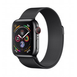 Apple - Watch Series 4 OLED 40 mm Negro 4G GPS (satélite) - MTVM2TY/A