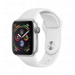 Apple - Watch Series 4 reloj inteligente Plata OLED GPS (satélite)