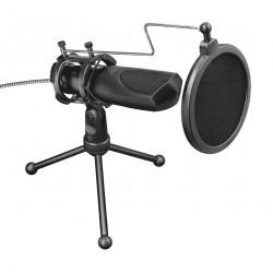 Trust - GXT 232 Mantis Negro PC microphone Alámbrico