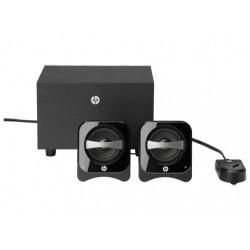 HP - 2.1 Compact Speaker System conjunto de altavoces 2.1 canales Negro