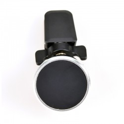 CoolBox - CoolFix Teléfono móvil/smartphone Negro, Plata Soporte pasivo