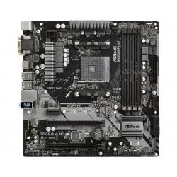 Asrock - B450M Pro4 Zócalo AM4 micro ATX AMD B450