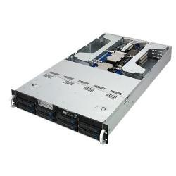 ASUS - ESC4000 G4 Intel® C621 LGA 3647 Bastidor (2U) Negro, Plata