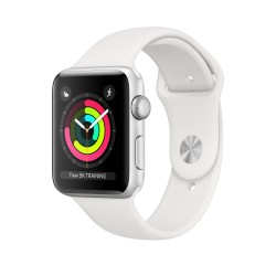 Apple - Watch Series 3 OLED Plata GPS (satélite)