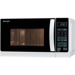 Sharp - R-642 WW Encimera Microondas con grill 20 L 800 W Blanco