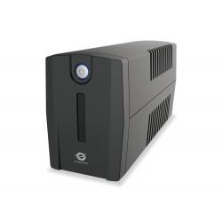 Conceptronic - ZEUS02ES sistema de alimentación ininterrumpida (UPS) Línea interactiva 850 VA 480 W 2 salidas AC