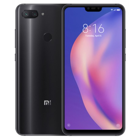 Xiaomi - Mi 8 lite 159 cm 626 4 GB 64 GB SIM doble 4G Negro 3350 mAh