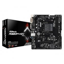 Asrock - A320M-HDV R3.0 placa base Zócalo AM4 Micro ATX AMD A320 - 22298342