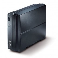 Riello - PRP 650 sistema de alimentación ininterrumpida (UPS) 650 VA 2 salidas AC