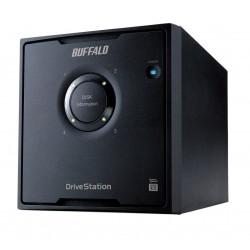 Buffalo - DriveStation HD-QHU3 unidad de disco multiple 24 TB Escritorio Negro