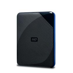 Western Digital - WDBDFF0020BBK-WESN disco duro externo 4000 GB Negro, Azul
