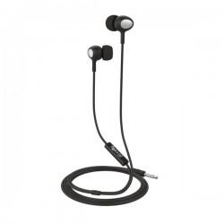 Celly - UP500BK auriculares para móvil Binaural Dentro de oído Negro Alámbrico