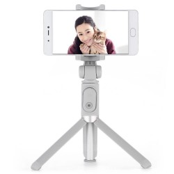 Xiaomi - Mi Selfie Stick Tripod palo para autofotos Smartphone Gris