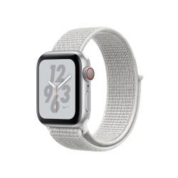 Apple - Watch Nike+ Series 4 OLED 40 mm Plata 4G GPS (satélite) - MTXF2TY/A