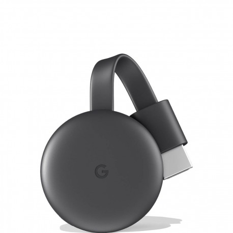 Google - Chromecast dongle Smart TV Full HD HDMI Carbn vegetal