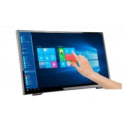 "Hannspree - HT248PPB monitor pantalla táctil 60,5 cm (23.8"") 1920 x 1080 Pixeles Multi-touch Mesa Negro"