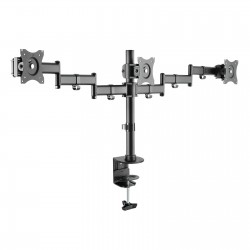 "TooQ - Soporte de mesa para 3 pantallas (monitor / plasma / LCD / LED) 13""-27"""