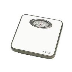 Nevir - NVR-3330 BB Báscula de baño analógica Gris, Blanco
