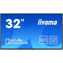"iiyama - ProLite LE3240S-B1 81,3 cm (32"") LED Full HD Pantalla plana para señalización digital Negro"
