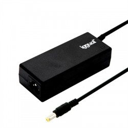 iggual - IGG315460 adaptador e inversor de corriente Interior 65 W Negro