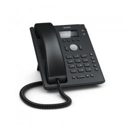 Snom - D120 teléfono IP Negro Terminal con conexión por cable 2 líneas