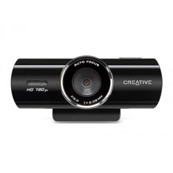 Creative Labs - Live! Cam Connect HD 8MP 1280 x 720Pixeles USB 2.0 Negro cámara web