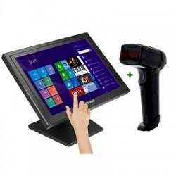 """iggual - IGG316283 monitor pantalla táctil 43,2 cm (17"""") 1280 x 1024 Pixeles Negro"""