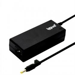 iggual - IGG315484 adaptador e inversor de corriente Interior 90 W Negro