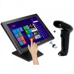 """iggual - IGG316290 monitor pantalla táctil 43,2 cm (17"""") 1280 x 1024 Pixeles Negro"""
