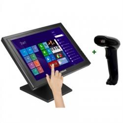 """iggual - IGG316306 monitor pantalla táctil 43,2 cm (17"""") 1280 x 1024 Pixeles Negro"""