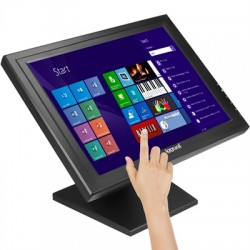 """iggual - IGG315743 monitor pantalla táctil 43,2 cm (17"""") 1280 x 1024 Pixeles Negro"""