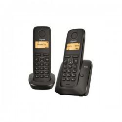 Gigaset - A120 Duo Teléfono DECT Negro