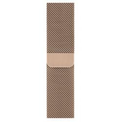 Apple - MTU72ZM/A accesorio de relojes inteligentes Grupo de rock Oro Acero inoxidable
