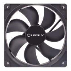 UNYKAch - 51787 ventilador de PC Carcasa del ordenador Enfriador 12 cm Negro