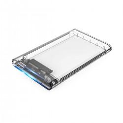 "CoolBox - COO-SCT-2533 caja para disco duro externo 2.5"" SSD enclosure Gris"