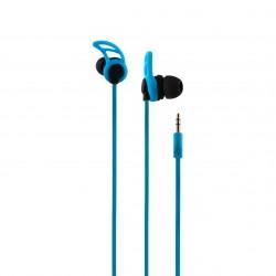 CoolBox - AirSport II auriculares para móvil Binaural Dentro de oído Azul Alámbrico