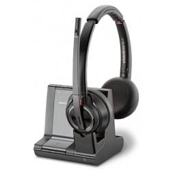 POLY - Savi W8220-M, MSFT Auriculares Diadema Negro