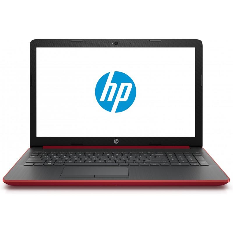 HP - 15-da0742ns Rojo, Plata Portátil
